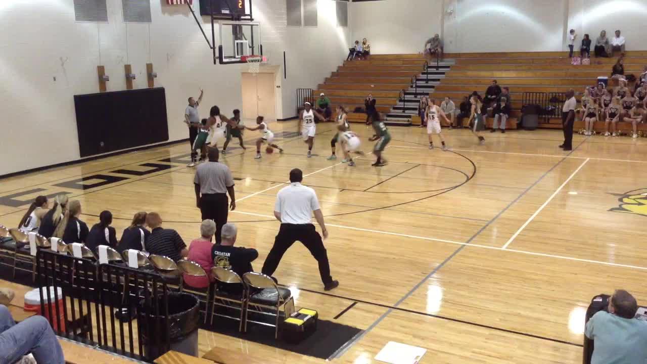 Croatan High School Vs White Oak Andrea Raynor Highlights