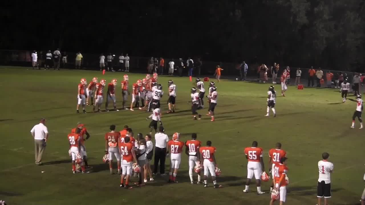 Jeremy Diaz's Highlights playing football for University High ...