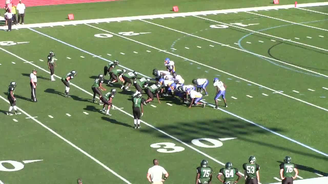 Pattonville High School Vs Riverview Gardens J V Football Lorerco Anthony Highlights