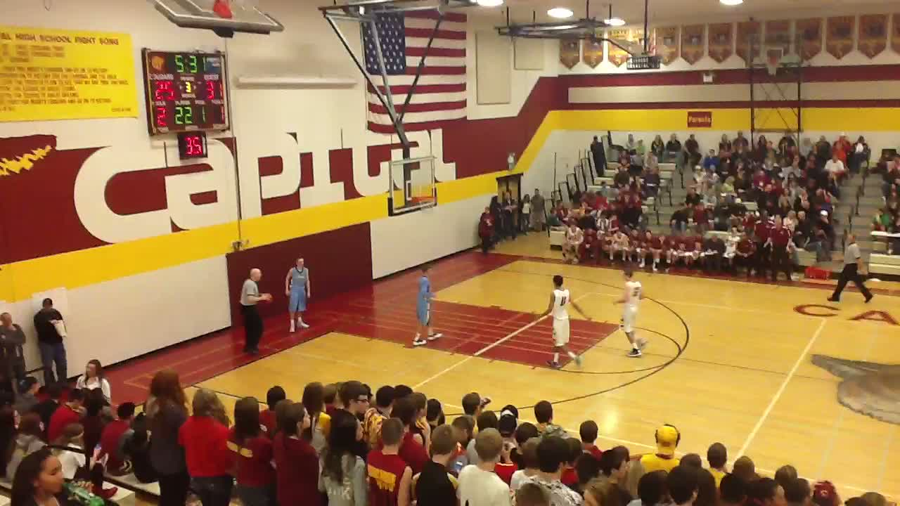 Olympia High School Vs Capital High School Max Fortier