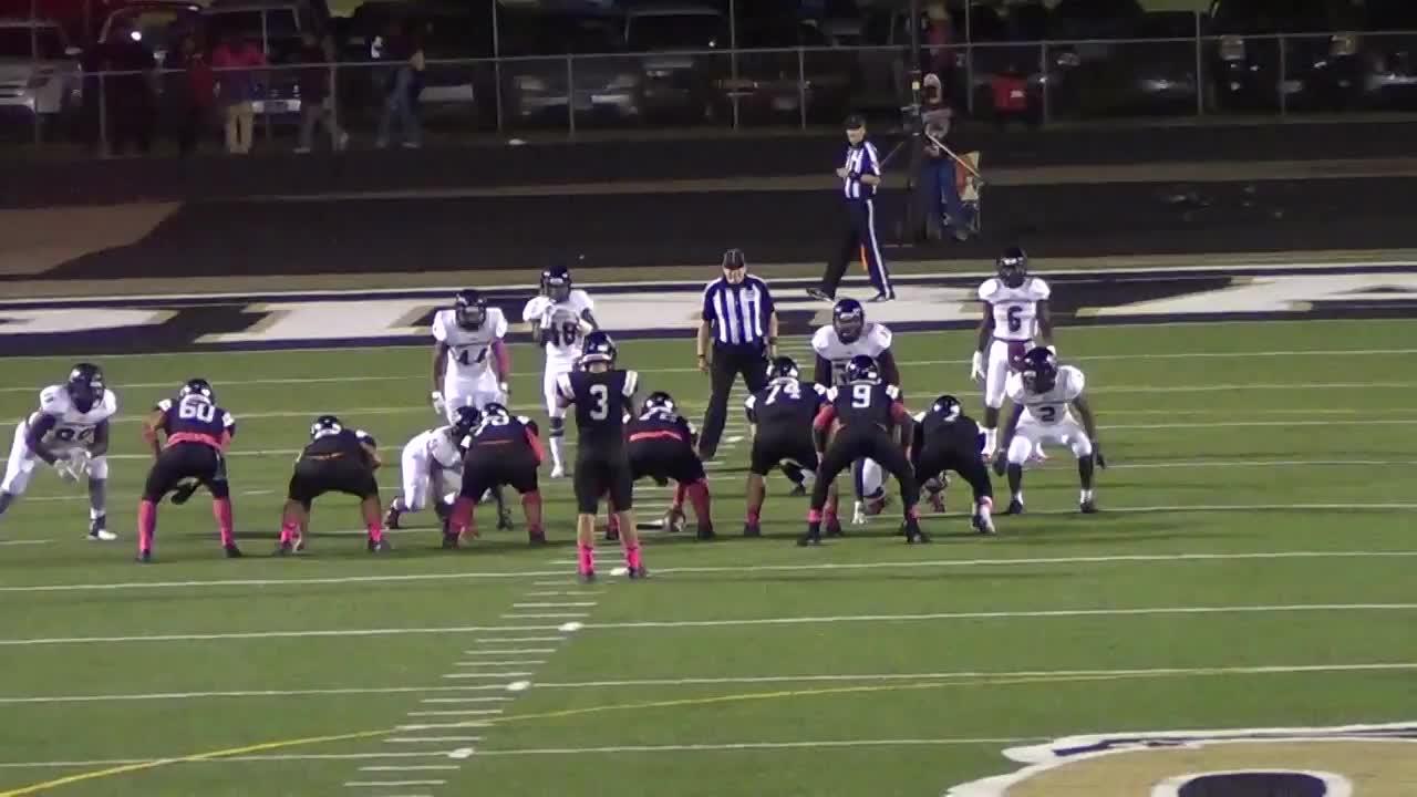 Pittsburg High School vs  Liberty-Eylau - Dejour Dowell highlights
