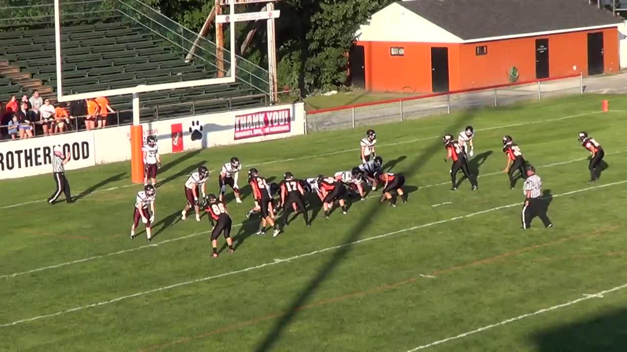 Biddeford Hs Football Video Highlight Of Vs Greely High School Maxpreps