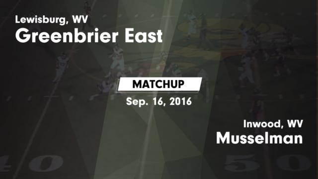 Boys Varsity Football - Greenbrier East High School - Lewisburg