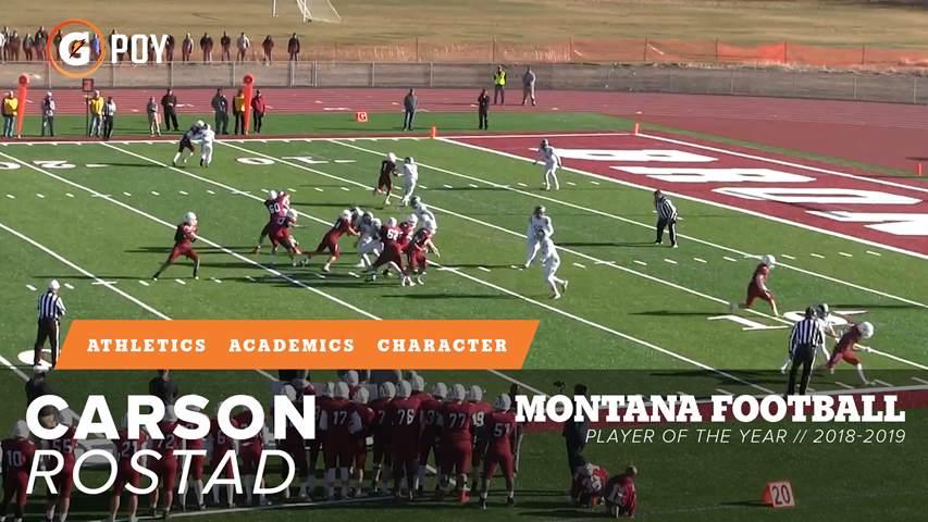 Boys Varsity Football Hamilton High School Hamilton Montana